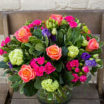 Beautiful Brights in a vase